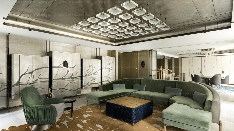 香港文华东方酒店套房