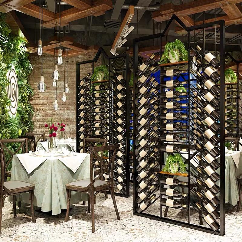 餐厅不锈钢酒架